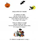 Halloween Night - Poem {JPEG}